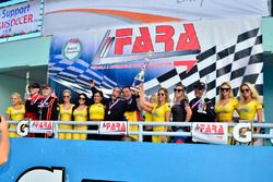 FARA Race of Champions MP4A podium