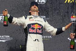 Le vainqueur Mattias Ekström, EKS RX