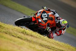 #104 Toho Racing, Honda: Tatsuya Yamaguchi, Ratthapark Wilairot