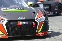 Detalle de Audi R8 LMS belga Audi Club equipo WRT