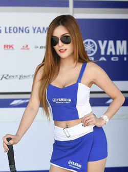 Lovely Yamaha gadis grid