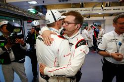 Marc Lieb, Andreas Seidl, Team Principal, Porsche Team