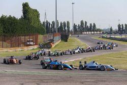 Race 3 start actie