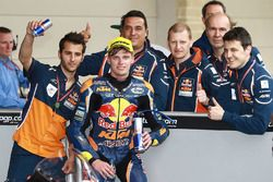 Third place Brad Binder, Red Bull KTM Ajo, KTM
