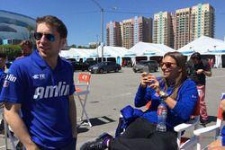 Robin Frijns, Simona De Silvestro, Amlin Andretti
