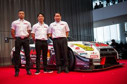 Jann Mardenborough, Nddp Racing, GT300 y Kazuki Hoshino, Nddp Racing, GT300
