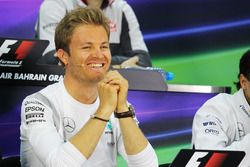 Нико Росберг, Mercedes AMG F1 на пресс-конференции FIA