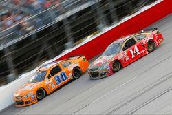 Tony Stewart, Stewart-Haas Racing, Chevrolet; Josh Wise, The Motorsports Group, Chevrolet