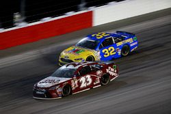 David Ragan, BK Racing Toyota, Jeffrey Earnhardt, Go Green Racing Ford