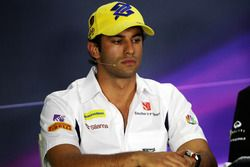 Felipe Nasr, Sauber F1 Team in the FIA Press Conference