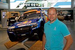 Timo Gottschalk ''50 yıllık heyecan - Volkwagen Motorsport'' açılış töreninde