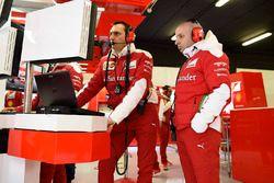 Ferrari engineer at work