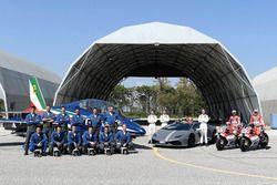 أندريا دوفيزيوزو، فريق دوكاتي وميكيلي بيرو، فريق دوكاتي والقوات الجوية الإيطالية