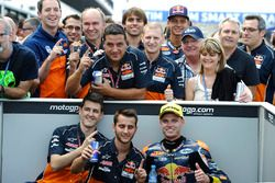 Il vincitore Brad Binder, Red Bull KTM Ajo