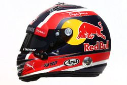 El casco de Daniil Kvyat, Red Bull Racing