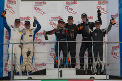 Podium Cup1: winner #146 Bonk Motorsport BMW M235i Racing Cup: Max Partl, Hermann Bock, Rainer Partl; second place #145 Bonk Motorsport BMW M235i Racing Cup: Axel Burghardt, Jürgen Meyer, Liesette Braams
