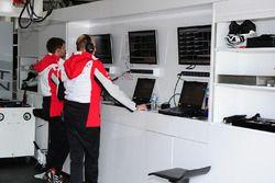 Porsche Team mühendisi