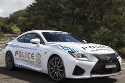 Une Lexus RC F de la police de Nouvelle-Galles du Sud