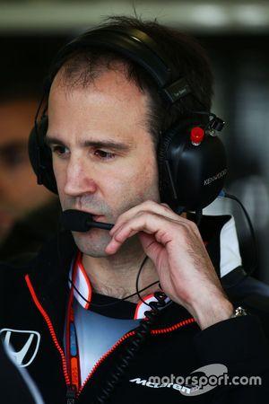 Tom Stallard, McLaren Ingeniero de carrera