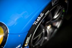 Detalle del #66 Ford Chip Ganassi Racing Team UK Ford GT: Billy Johnson, Stefan Mücke, Olivier Pla