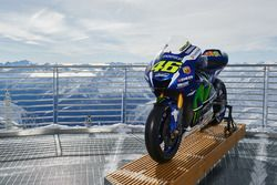 The 2016 Yamaha YZR-M1 of Valentino Rossi, Yamaha Factory Racing