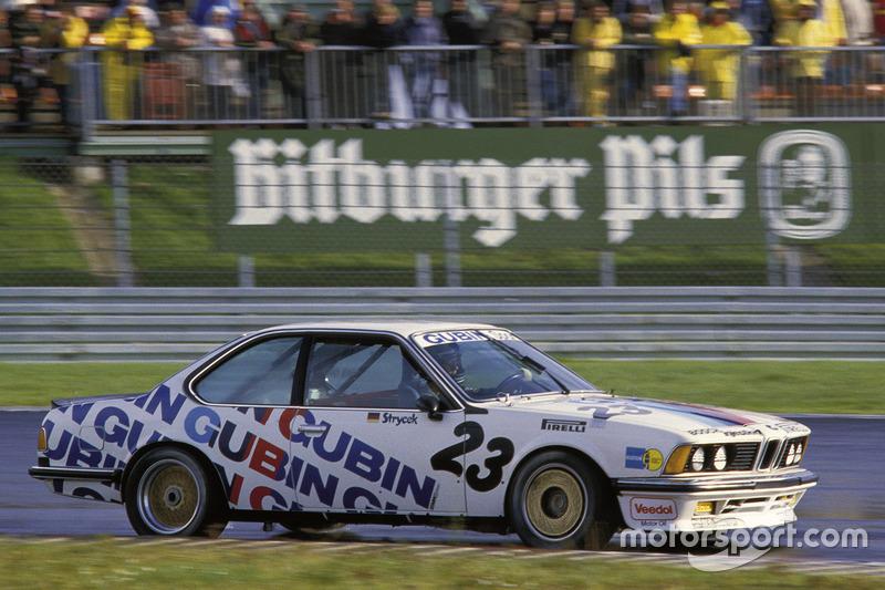 BMW 635 CSi (дебют в 1984 году)
