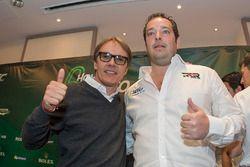 Ex-Fahrer Adrian Fernández und Ricardo González, RGR Sport