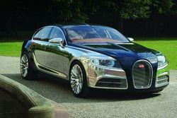 Rendu d'une Bugatti 4 portes
