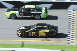 #99 Automatic Racing Aston Martin: Rob Ecklin, Al Carter, #57 Racers Edge Motorsports Mustang Boss 3