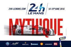 2016 24 Saat Le Mans yarışının posteri
