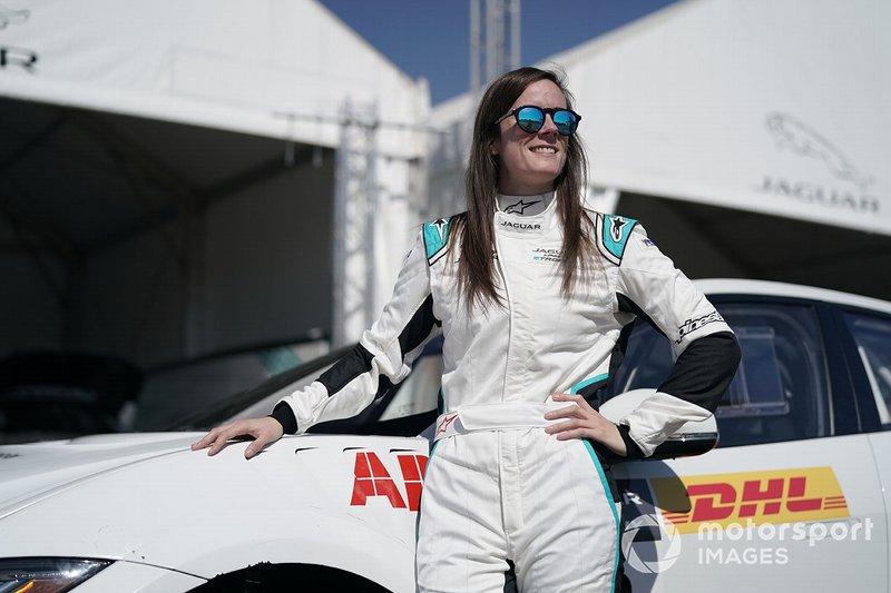 Abbie Eaton, Jaguar VIP car
