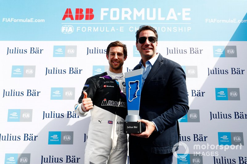 Poleman: Alexander Sims, BMW I Andretti Motorsports, BMW iFE.20