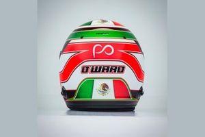 El nuevo casco de Patricio O'Ward Arrow McLaren SP