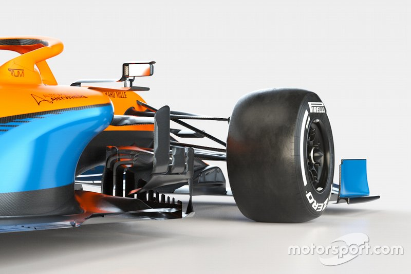 Фрагмент McLaren MCL35