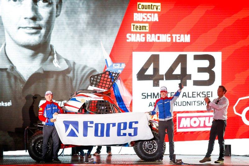 #443 SNAG Racing Team - Can Am: Shmotev Aleksei, Andrei Rudnitski