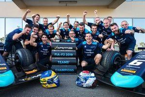Sergio Sette Camara, Dams and Nicholas Latifi, Dams celebrate winning the 2019 Teams Championship with Dams