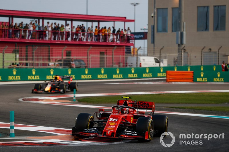 Charles Leclerc, Ferrari SF90, Max Verstappen, Red Bull Racing RB15