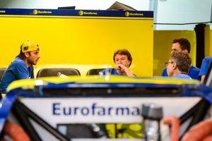 Ricardo Maurício conversa com Meinha - Rosinei Campos - Equipe Eurofarma