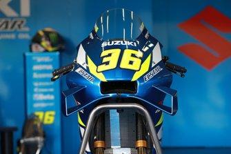 Bike von Joan Mir, Team Suzuki MotoGP