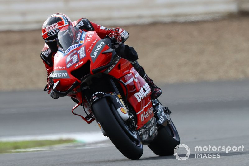 La Ducati de Michele Pirro