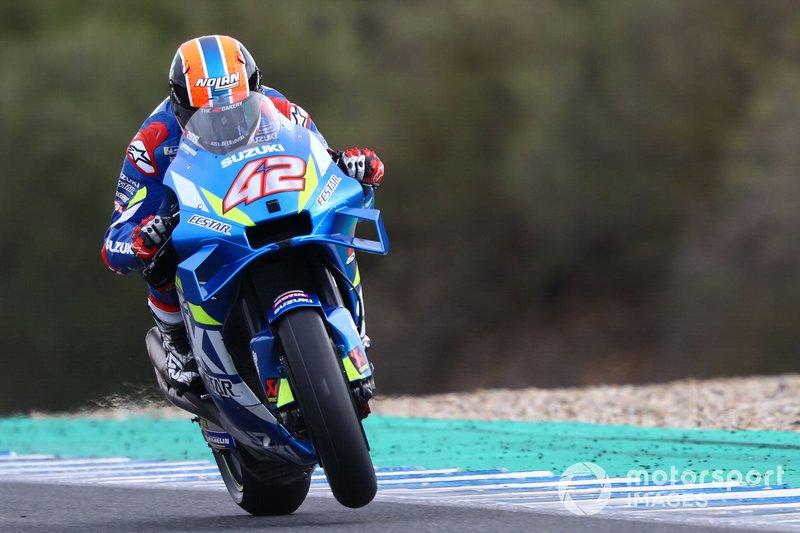 3º Alex Rins, Team Suzuki MotoGP - 1:37.837