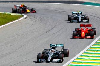 Lewis Hamilton, Mercedes AMG F1 W10, Sebastian Vettel, Ferrari SF90, Valtteri Bottas, Mercedes AMG F1 W10, Alexander Albon, Red Bull RB15
