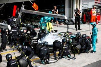 Пит-стоп: Льюис Хэмилтон, Mercedes AMG F1 W10