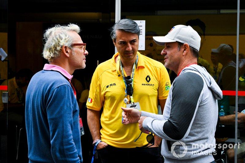 Jacques Villeneuve et Rubens Barrichello