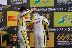 Podium: #99 ROWE Racing Porsche 911 GT3 R: Laurens Vanthoor, #98 ROWE Racing Porsche 911 GT3 R: Earl Bamber