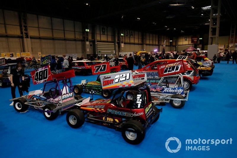 Coches en el Autosport show