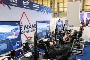 Le Mans eSport series area
