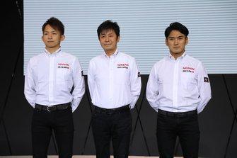 平手晃平、田中利和監督、千代勝正(#3 CRAFTSPORTS MOTUL GT-R)