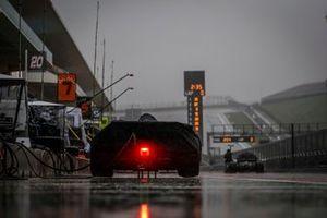 Oliver Askew, Arrow McLaren SP Chevrolet, rain