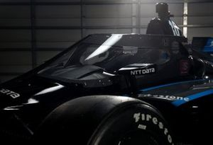 Aeroscreen safety innovation on the NTT Data Honda